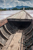 Boat ferry on Mekong Royalty Free Stock Photo