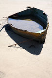 Boat filled with water Stock Photography