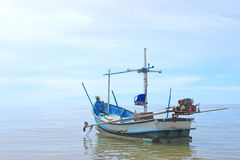Boat of fisherman Stock Photo
