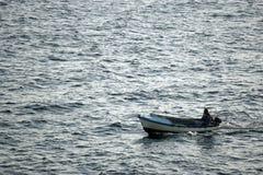 boat fishing Royaltyfri Bild