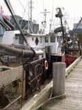 boat fishing 图库摄影