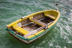 Boat at the fishing port of Marsaxlokk Stock Images
