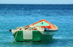 Boat, Fishing, Tropic, Ocean Stock Photos