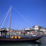 Boat For The Porto Wine Stock Photography