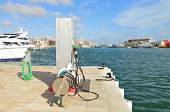 Boat Fuel Pumps Stock Image