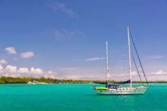 Boat in Galapagos Islands Royalty Free Stock Image
