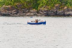 Boat on Georgian Bay Stock Image