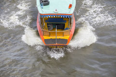 Boat go to fast Royalty Free Stock Image