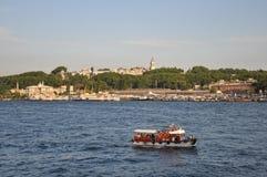 Boat, Golden Horn Stock Photo