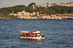 Boat, Golden Horn Royalty Free Stock Photo