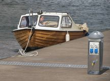 Boat in Goteburg Royalty Free Stock Image