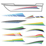 Boat Graphics Stock Image
