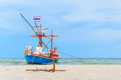 Boat and Grapnel Stock Photography