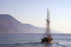 boat in the greek archipelago Royalty Free Stock Image