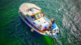 Boat. Greek Fishing Boat Royalty Free Stock Photography