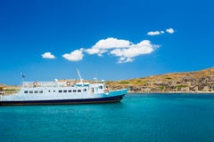 Boat in Greek Islands Stock Photos