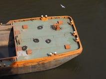 Boat in Hamburg port. HAMBURG, GERMANY - CIRCA MAY 2017: Boat in Hamburg port Stock Photography