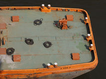 Boat in Hamburg port Royalty Free Stock Image