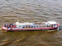 Boat in Hamburg port hdr. HAMBURG, GERMANY - CIRCA MAY 2017: Boat in Hamburg port, hdr Stock Photos