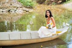 In boat Stock Photo