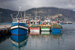Boat harbor Royalty Free Stock Images
