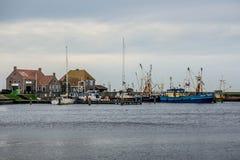 Boat Harbor. In the Dutch village of Stavoren Stock Images