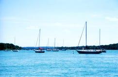 Boat Harbor. Lewiston New York,Niagara river Stock Photos