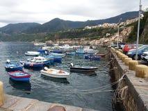 Boat harbor Stock Photo