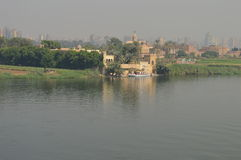 Boat harbour at River Nile Royalty Free Stock Image