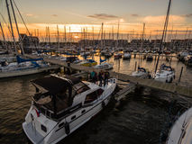 Boat in Harbour Royalty Free Stock Image