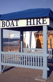 Boat hire stand Stock Photos