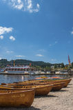 Boat hire in Titisee Neustadt Stock Photography