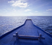 Boat horizon Stock Image