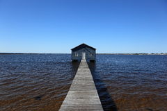 Boat House. Swan River Boat House at Perth along stirling highway next to Kings Park Royalty Free Stock Photo