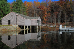 Lake House royalty free stock photo