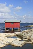 Boat House Stock Image