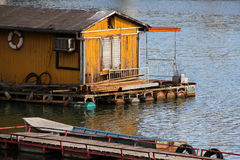 Boat house Stock Image