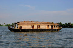 Boat House in India Royalty Free Stock Images