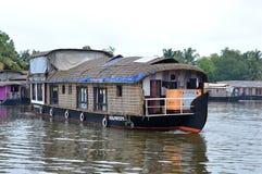 Boat House at Kerala Stock Image