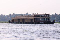 Boat house at Kumarakom, Kerala Royalty Free Stock Photos