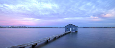 Boat House Matilda Bay Royalty Free Stock Photos