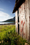 Boat House Norway Royalty Free Stock Photography