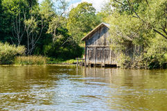 The boat house Royalty Free Stock Photography