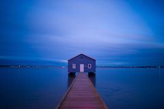 perth swan river Boat house Royalty Free Stock Image