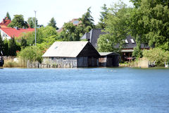 Boat house Royalty Free Stock Photos