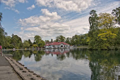 Boat House Royalty Free Stock Image