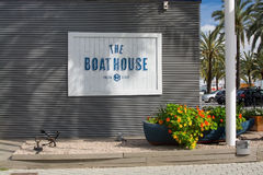 The Boat House restaurant Royalty Free Stock Images