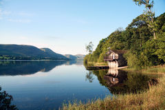 Boat House on Ullswater Royalty Free Stock Images