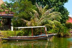 Boat in Hua Hin Floating Market in Hua Hin. Thailand. Stock Images