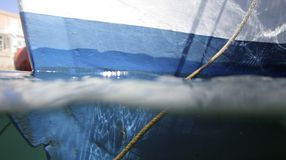 boat hull Στοκ εικόνα με δικαίωμα ελεύθερης χρήσης